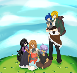 A day with the Orphans by Kaitou-Alice