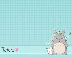 Totoro Wallpaper by xXMandy20Xx