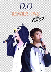 EXO - D.O // Render // Pack PNG by EXOEDITIONS