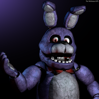 Where's my guitar? - FNAF 1 Bonnie by GamesProduction