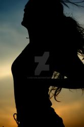Silhouetted Dancer by KeVvin