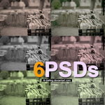 6 PSDs by Lil-darling