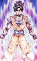 Son Goku by BlackExcell