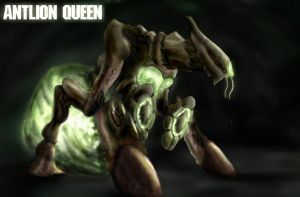 The queen by HeadcrabeD