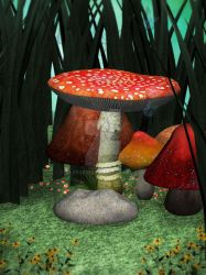 Fairy-home-7 by UlyssesFae
