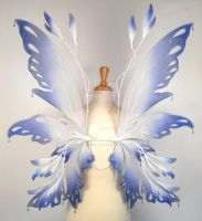 Posie fairy wings with beads by glittrrgrrl