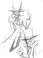 Villainous Black Hat by WhiteFox89