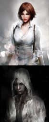 Kidman and Ruvik_The Evil Within by SiriCC