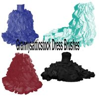 Photoshop Dress Brushes by GRANNYSATTICSTOCK