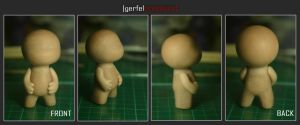 first sculpey WIP by NeverBlink