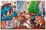 Pittie Xmas 2014 by Colonels-Corner