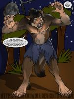 OSC: Night of the Werewolf.  Take 14. by JakkalWolf