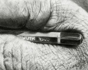 Drawing by Pappa60