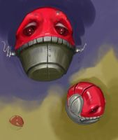 Voltorb by SoupAndButter