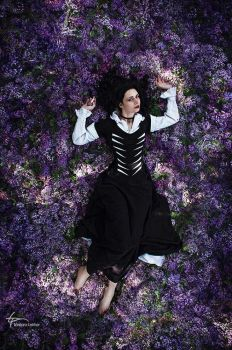 Lilac and Gooseberries. Yennefer. by Fealin-Meril