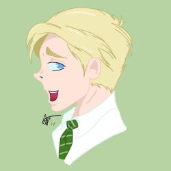 Draco Malfoy by snivellus747