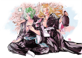 SC46:  let's celebrate spring! by Qsan90