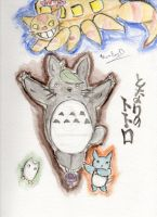 Totoro and Friends by Twin-Divinity