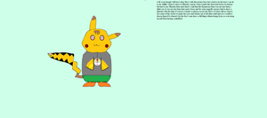 My Pikachu Form With A Note To Tell Whats Up by meltdown44
