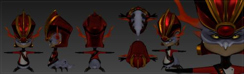 Emperor Percival Tachyon : Fan made model by The--Magpie