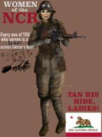 NCR Poster by JLazarusEB