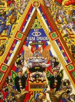 Iconostasis of Serbocapitalism-detail by alexander982