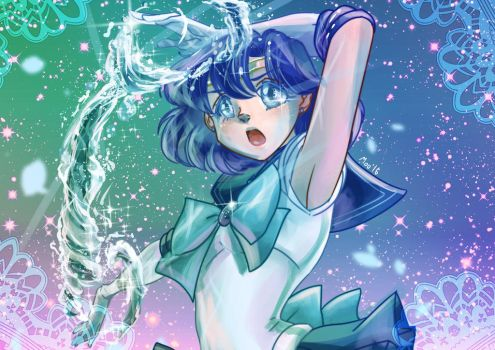 Sailor Mercury by ToriSakura