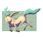 Leafeon by WraithWolves