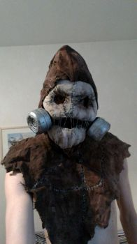 Scarecrow cosplay sneak peak by HIPPOPOTOMONSTROSES1
