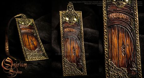 Bookmark - Hobbiton Less detailed by Deakath