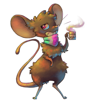Kuv mouse by thehusmus