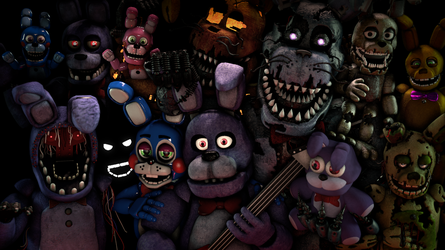 (FNaF/SFM) Bonnie Generations by PixelKirby340