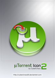 uTorrent Icon 2 by cyberchaos05
