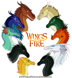 Wings of Fire - All Together by xTheDragonRebornx