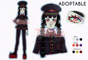 CLOSED / AUCTION / Adopt / Military Zombie by MiiMiiu