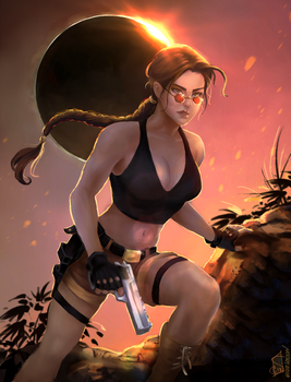 Shadow of the Tomb Raider (Reimagined) by Forty-Fathoms