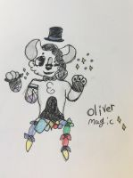 Oliver stap da magic  (com/gif) by Shadethewolf345