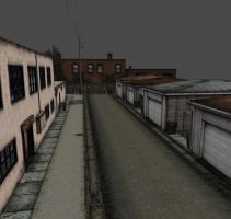 Silent Hill 2 Alley by Mageflower