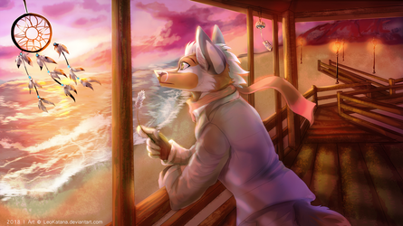 {Commission} - Ocean thoughts by LeoKatana
