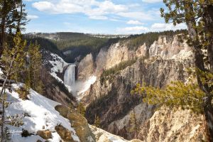 Lower Falls Yellowstone by DGAnder