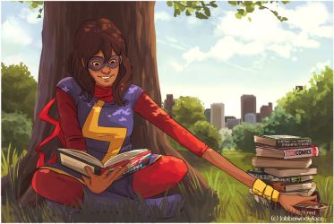 Kamala Khan Commission by Jabberwockyface