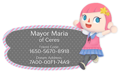 Animal Crossing Town Card by CeresMongrel
