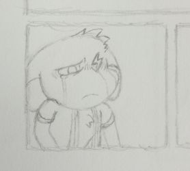 Comic Project Panel Tease by Sonic11110