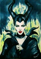 Maleficent by Paerytopia
