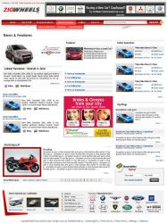 Auto Website -  inside page. by vinkrins