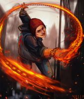 Delsin Rowe by Jell1Patty