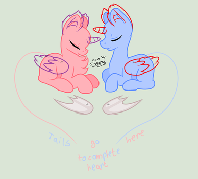 Heart Couple Lineart/Base /!/READ THE RULES/!/ by XimerEnergy