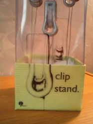 clip stand detail by 1hundredmilesaway
