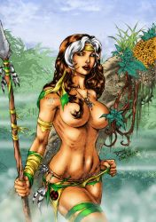 Jungle Fever Rogue by Clu-art