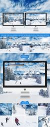 IN THE SLOPE - Dual-screen winter world by wellgraphic
